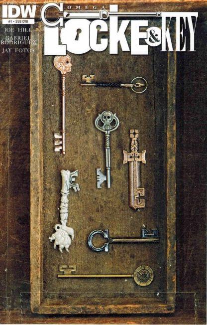Locke & Key: Omega #1 Subscriber Variant Joe Hill