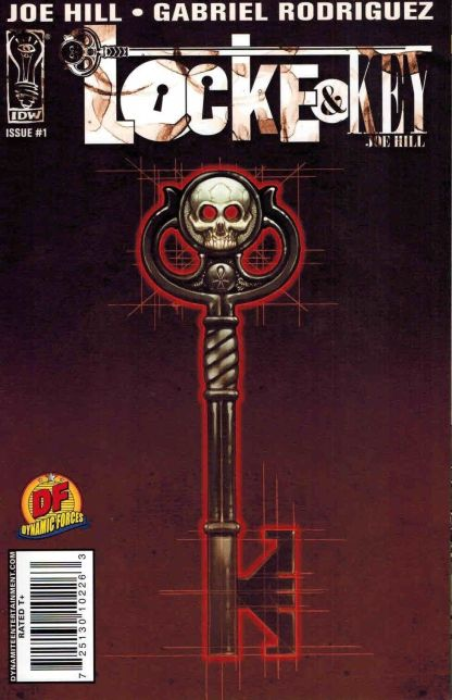 Locke & Key: Welcome to Lovecraft #1 First Printing Dynamic Forces Variant