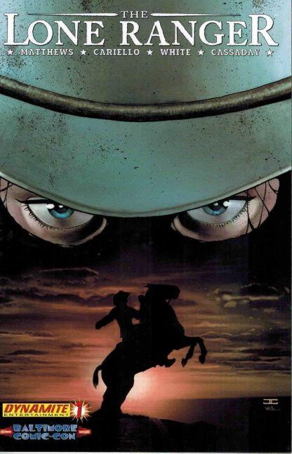 Lone Ranger #1 John Cassaday Baltimore Comic Con Exclusive Variant