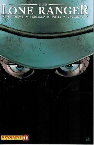 Lone Ranger #1 John Cassaday Variant