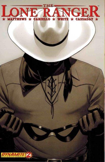 Lone Ranger #2 D John Cassaday Sepiotone Variant