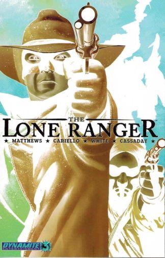Lone Ranger #3 John Cassaday Photo Negative Variant