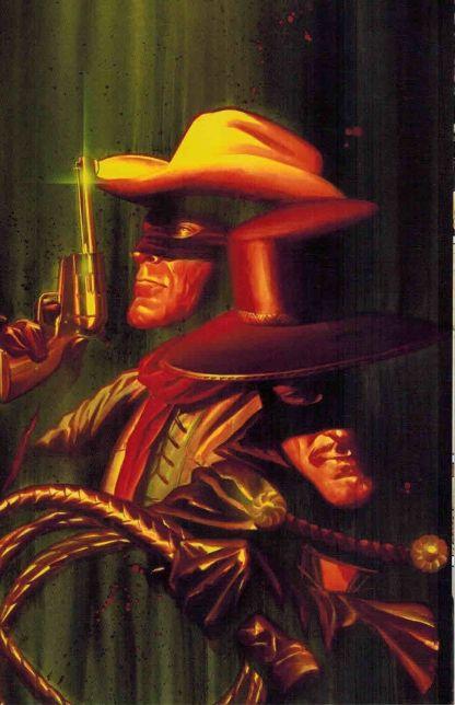 Lone Ranger: The Death of Zorro #1 Alex Ross Virgin Art Variant