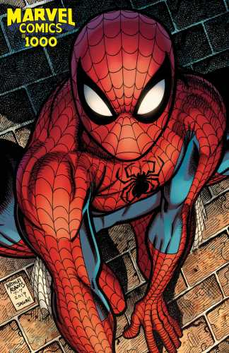 Marvel Comics #1000 Ultimate Comics Exclusive Art Adams Amazing Spider-Man Variant 2000 Copy 2019 In Hand