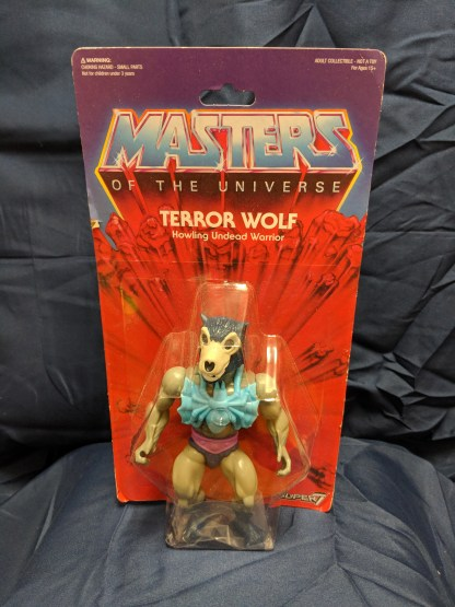 Masters of the Universe Vintage Collection Terror Wolf 5.5 in. Figure