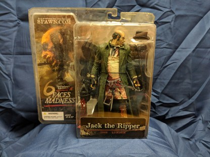 McFarlane Monsters III Jack the Ripper 6 Faces of Madness with Hat