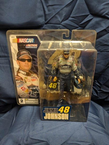 Jimmie Johnson #48 2004 Action Figure by McFarlane Toys Nascar Series 2
