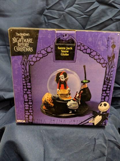 Limited Edition Nightmare Before Christmas Santa Jack Snow Globe Full Size NECA