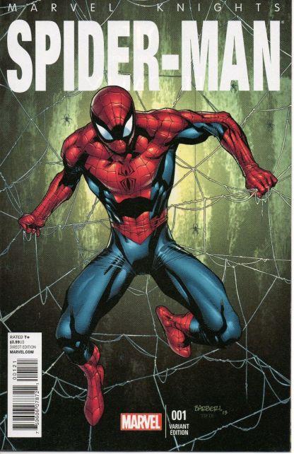 Marvel Knights Spider-Man #1 1:25 Barberi Variant