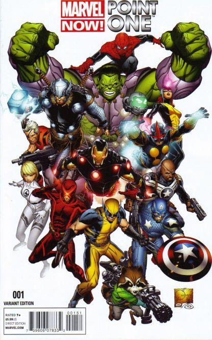 Marvel NOW Point One #1 1:50 Joe Quesada Color Variant 2012