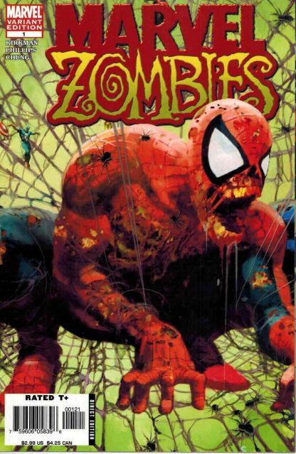Marvel Zombies #1 Arthur Suydam Spider-Man Variant