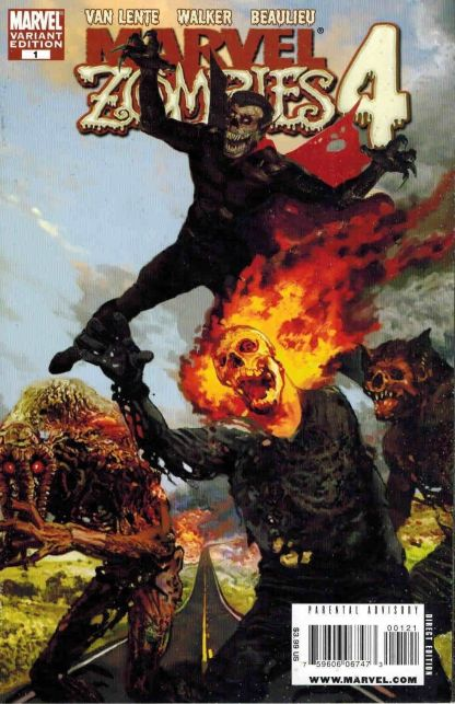 Marvel Zombies 4 #1 Arthur Suydam Variant