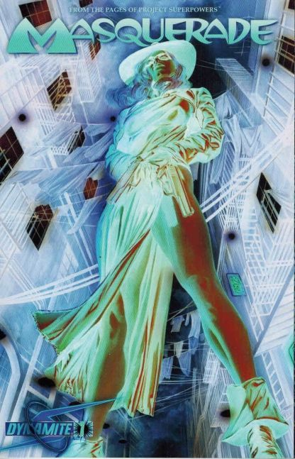Masquerade #1 Alex Ross Photo Negative Variant Project Superpowers