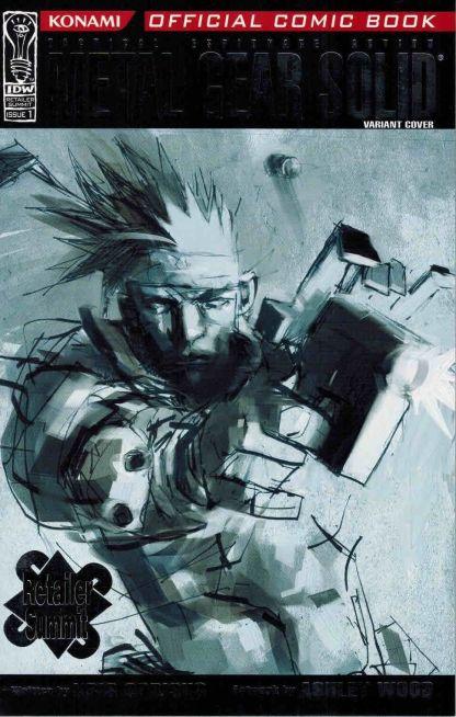 Metal Gear Solid #1 Retailer Summit Ashley Wood Sketch Variant