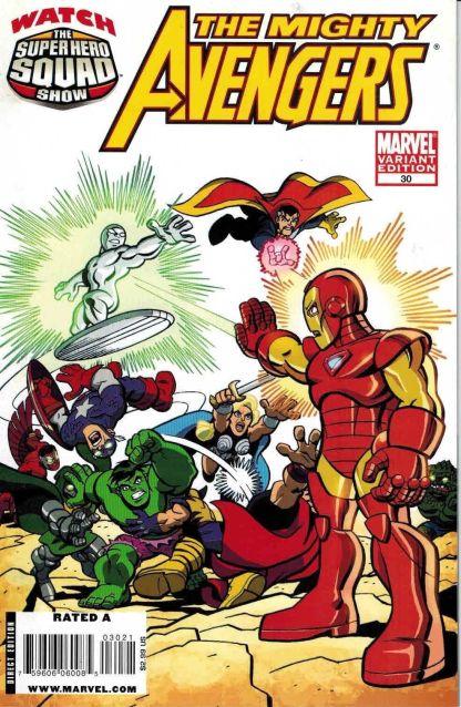 Mighty Avengers #30 Super Hero Squad Variant