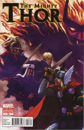 Mighty Thor #18 Stephanie Hans Warriors Three Variant