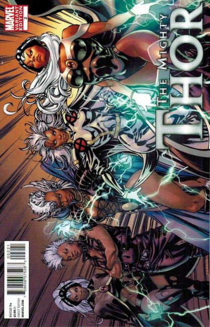 Mighty Thor #2 X-Men Evolution Storm Variant