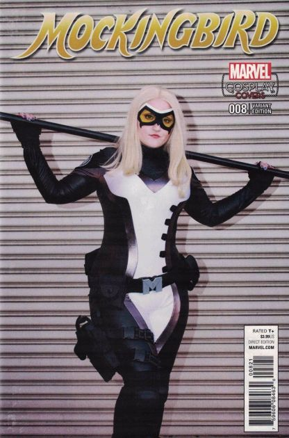 Mockingbird #8 1:15 Cosplay Photo Variant Marvel ANAD 2016