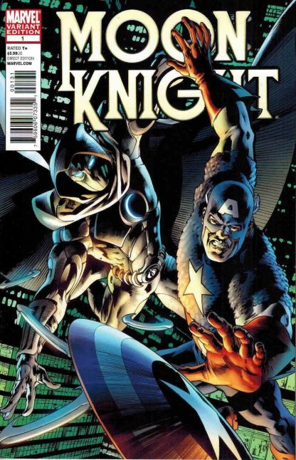 Moon Knight #1 Bryan Hitch Captain America Variant
