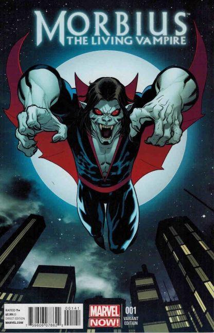 Morbius: The Living Vampire #1 Ed McGuinness Variant