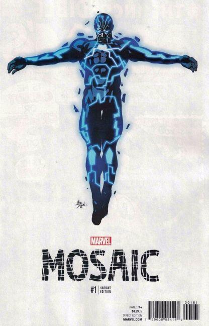 Mosaic #1 1:10 Mike Deodato Jr Teaser Variant NOW Marvel 2016 Inhumans