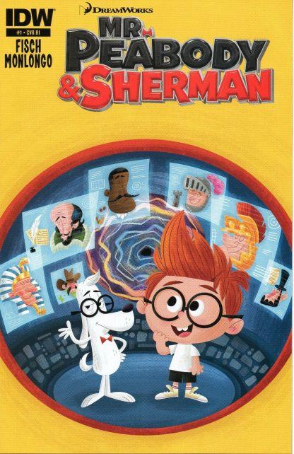 Mr. Peabody & Sherman #1 Matt Kaufenberg Variant