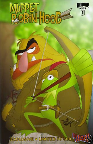 Muppet Robin Hood #1 Ultimate Comics Exclusive Variant Boom 2009 Kermit Sweetums
