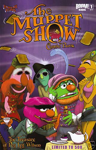 Muppet Show The Treasure of Peg Leg Wilson #1 Ultimate Comics Exclusive Variant