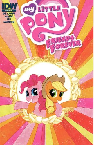 My Little Pony: Friends Forever #1 1:10 Carla Speed McNeil Variant