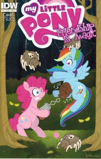 My Little Pony: Friendship is Magic #2 C Katie Cook Pinkie Pie Rainbow Dash