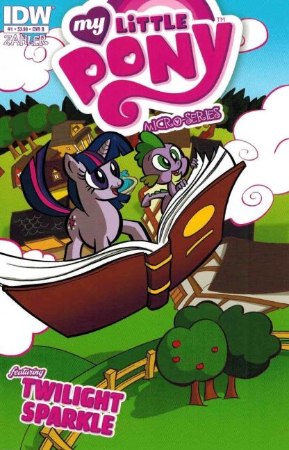 My Little Pony: Micro-Series #1 Twilight Sparkle Tom Zahler Variant