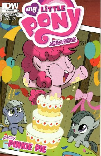 My Little Pony Micro-Series #5 Pinkie Pie RI Sabrina Aberghetti Variant