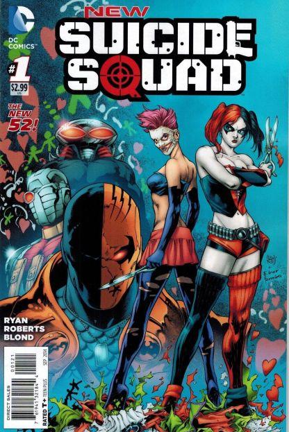 NEW Suicide Squad #1 1:25 Ivan Reis Variant Harley Quinn HTF Rare