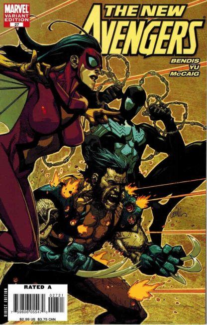 New Avengers #27 Leinil Yu Variant
