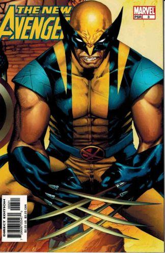 New Avengers #3 Olivier Coipel Wolverine Variant