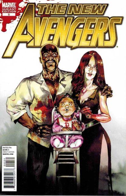 New Avengers #5 Stephanie Perger Cage Family Vampire Variant