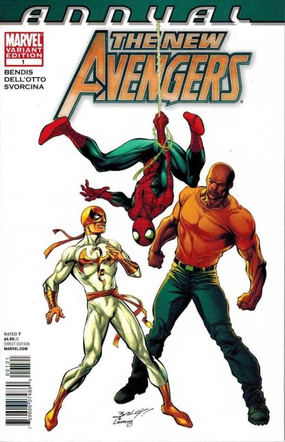 New Avengers Annual #1 Mark Bagley Color Variant