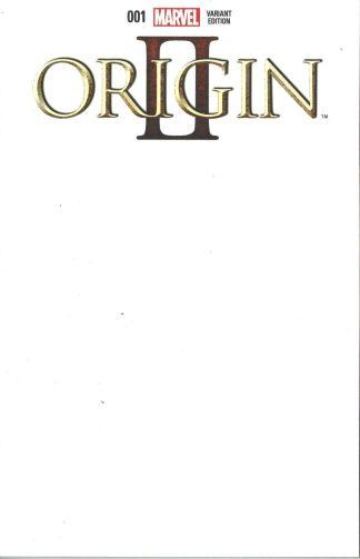 Origin II #1 Blank Variant Wolverine