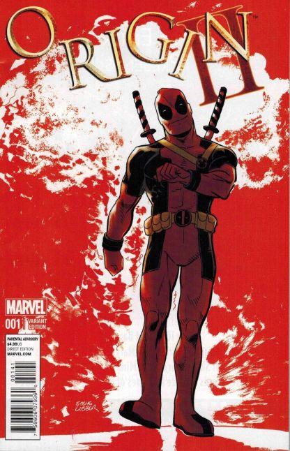 Origin II #1 Deadpool Variant Wolverine