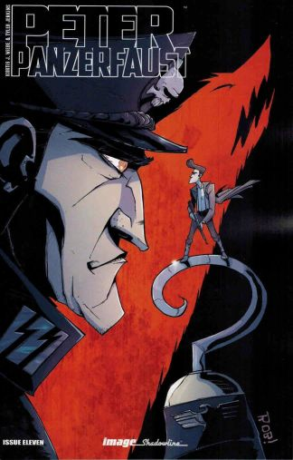 Peter Panzerfaust #11 Rob Guillory Captain Hook Variant Image 2012