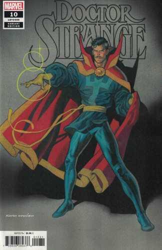Doctor Strange #10 1:25 Kevin Nowlan Variant Marvel 2018 Legacy #400