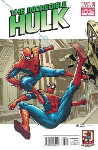 Incredible Hulk #9 1:25 Koi Pham Spider-Man In Motion Variant Marvel 2011