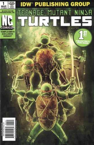 Teenage Mutant Ninja Turtles #1 NC Comicon Exclusive Templesmith Variant 2011