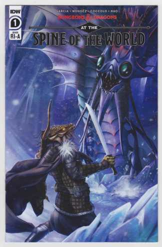 Dungeons & Dragons Spine of the World #1 1:10 Nodet Variant IDW 2020 VF/NM