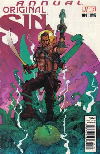 Original Sin Annual #1 Christian Ward Nick Fury Variant Marvel 2014