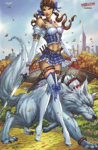 Grimm Fairy Tales Presents Oz #3 NYCC Exclusive Variant New York Comicon GFT