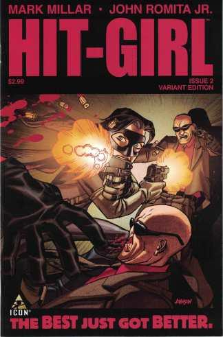 Hit Girl #2 1:20 Dave Johnson Variant Marvel 2012