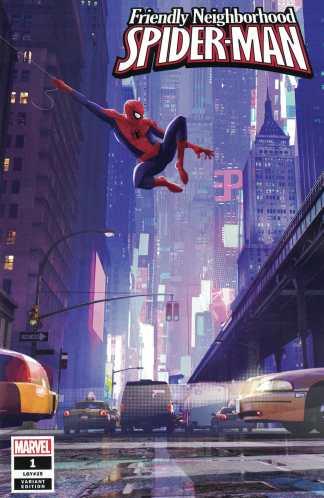 Friendly Neighborhood Spider-Man #1 1:10 Animation Variant Marvel 2019