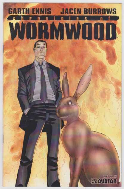 Chronicles of Wormwood #2 Cover A Avatar 2007 Garth Ennis VF/NM