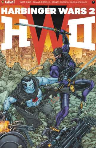 Harbinger Wars 2 #3 1:20 Juan Jose Ryp Interlocking Variant Cover C Valiant 2018
